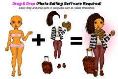 Fall Fashion &Travel Clipart DIY Best Friends Clipart PNG Product Image 2