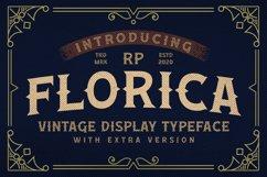 Florica - Vintage Display Font Product Image 1