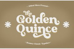Golden Quince - Classic Display Product Image 1