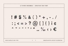 Le Vivre Ensemble - Bold SVG Type Product Image 3