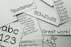 Elementary Basic - Imperfect Handwritten Font Product Image 3