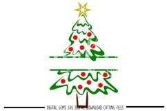 Christmas tree SVG / PNG / EPS / DXF files Product Image 1