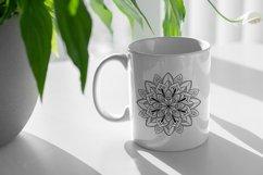 Mandalas set SVG, Boho stile cut file, Print and Cut Stikers Product Image 5