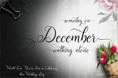 December Font Product Image 1