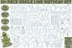 Foil Quill Birthday 50 Piece Bundle / Single Line Product Image 1