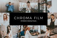 20 Chroma Film Lightroom Presets & LUTs Product Image 1