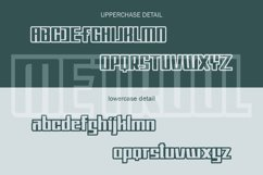 Metro Font Family Product Image 6