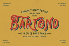 Bartond Typeface Product Image 1