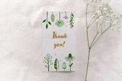 Floral botanical doodle illustrations set Product Image 5