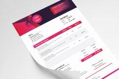 Modern Editable Invoice Template Design Product Image 4