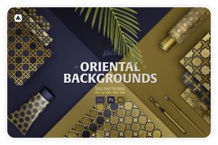 200 Oriental backgrounds collection Product Image 1
