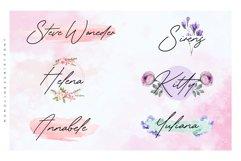 Gardenia Summer Monoline Script Font Product Image 2