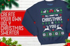 Christmas Knitted Font Product Image 4