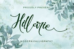 Hillarie - Modern Calligraphy Product Image 1