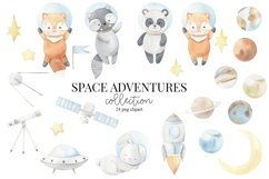 Space adventures - watercolor set Product Image 2