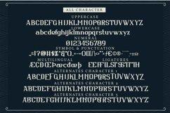 Benwick Castle| Classic Vintage Font Product Image 6