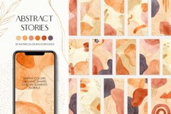 Abstract Watercolor IG Stories Product Image 1