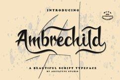 Ambrechild Script Product Image 1