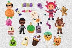 Halloween Boys Clipart, halloween boys clipart Product Image 4