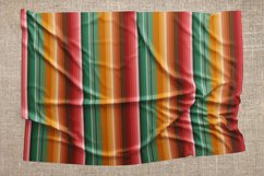 Blanket stripes seamless pattern. Serape mexican background. Product Image 5