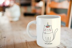 Unicorn svg - Cat SVG - I am unicorn Product Image 2