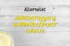 Web Font Lemon Drizzle Product Image 6