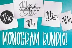 Monogram Bundle - FIVE Styles Including a Split Monogram! Product Image 1