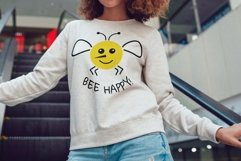 Bee svg Bee happy svg Product Image 3