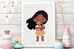 Cute Princess Clip art Set 2 Product Image 5