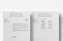 Resume Template Minimalist | CV Template Word - Melanie Product Image 7