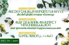 Minimalistic font - display font Product Image 6