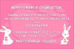 Bunny Berlie - a Cute Rounded Font Product Image 5