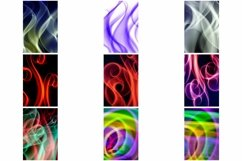 110 Photographs of Abstract Neon Swirls and Lines Product Image 4