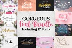 Gorgeous Font Bundle by Letterflow Product Image 1