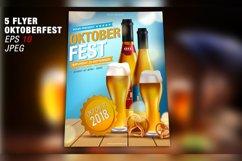 Oktoberfest Flyer Template - Vector Product Image 3