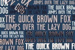 Searocks | A clean condensed font Product Image 6