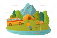 Hiking Camping Tent Product Image 6