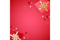 Valentine's Day Background Template Card Design Product Image 9