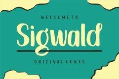 Sigwald - Handdrawn Fonts Product Image 1