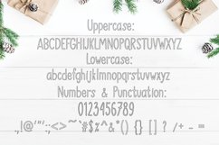 SNOWLAND - hand drawn winter font Product Image 4