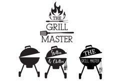 The Grill Master Svg Product Image 1