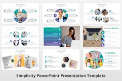 Simplicity multipurpose PowerPoint Presentation Template Product Image 6