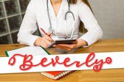 Stethoscope Script - A Nurse Font Product Image 6