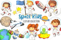 Space Kids Science Clip Art Collection Product Image 1