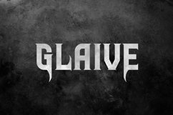 Glaive Typeface Product Image 1