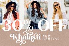 Khalasti - Beautiful Serif Font Product Image 7
