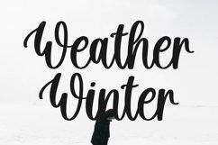 Hello Snowflake - a script winter font Product Image 8
