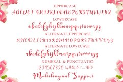 fatayah irhami - a chic script font Product Image 5