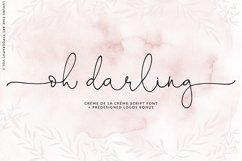 Oh Darling- Ethereal Script Font Product Image 1
