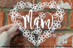 Mam paper cut SVG / DXF / EPS files Product Image 1